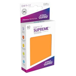 Supreme UX Sleeves Japanese Size Orange (60)