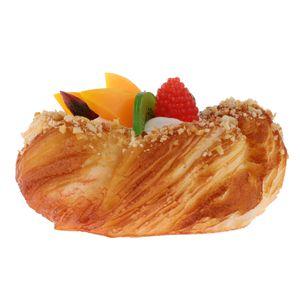 Kunstoff Frucht Brötchen Brot Kuchen Modell Bäckerei Kaffeegeschäft Spielzeug Style_1 精品 水果 小 面包 A wie beschrieben