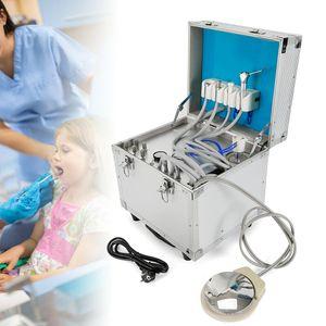 Zahnmedizinische Einheit Mobile Dental Unit Dentaleinheit Behandlungseinheit System Luft Kompressor Suction Syringe 4H