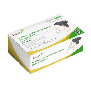 20 x Hotgen Spucktest Saliva Antigen Schnelltest Selbsttest im Pack