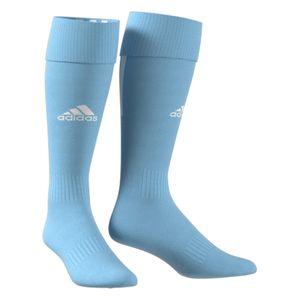 adidas SANTOS 18 Kinder Fußballstutzen Socken Blau, Größe:40-42