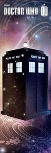 Doctor Who Poster Tardis - Langbahnposter