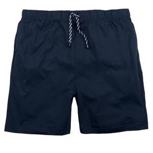 Adamo kurze Pyjamahose dunkelblau große Größen, Größe:10XL