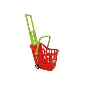 Kinder Einkaufswagen Supermarkt Wagen Einkaufstrolley Trolley mit Teleskop Griff