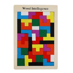 Holzspiel Montessori Kinder Baby Kleinkind Puzzle Lernspielzeug