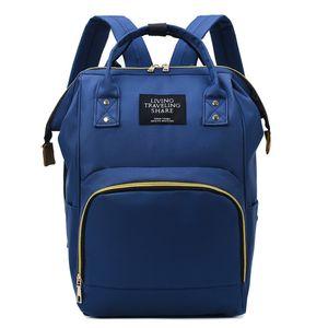 Blau Baby Wickelrucksack Wickeltasche Multifunktional Wasserdicht Mama Rucksack Große Kapazität Babytasche für Unterwegs