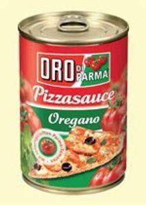 Oro di Parma Pizzasauce aus Sonnengereifte Tomaten mit Oregano 425 ml