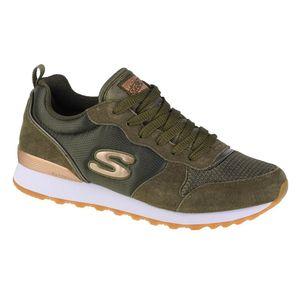 Skechers Damen Sneakers OG 85 Goldn Gurl Oliv/Grün, Schuhgröße:EUR 38