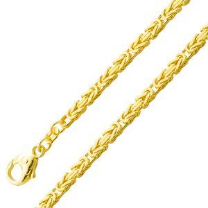 Goldkette Königskette Goldarmband 2,6mm Gelbgold 585 massiv 18cm 45cm 60cm 45
