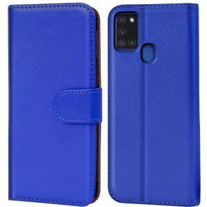 Book Case für Samsung Galaxy A21s Hülle Tasche Flip Cover Handy Schutz Hülle