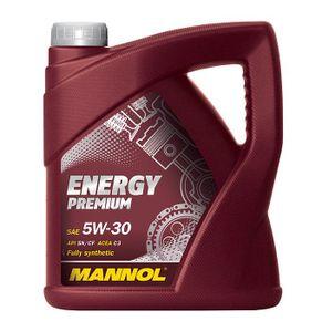 5 Liter MANNOL 5W-30 ENERGY PREMIUM ACEA C3 API SN API CF VW 502 00 VW 505 00 VW 505 01 MB 229.51 BMW Longlife-04 dexos2
