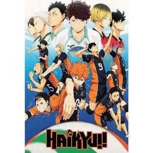 Anime Haikyuu Poster - Japan Manga Poster Zinn Poster Japan Anime Poster Comic Poster Cartoon Poster --L