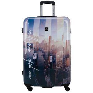 Saxoline Koffer Spinner mit Zahlenschloss Gr. L New York-Manhatten