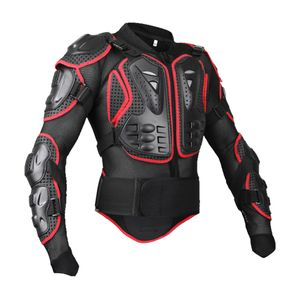 Motorrad Ganzkörperjacke Rüstung   Rücken Brustschutz Motocross Motos Biker XXXL Rot