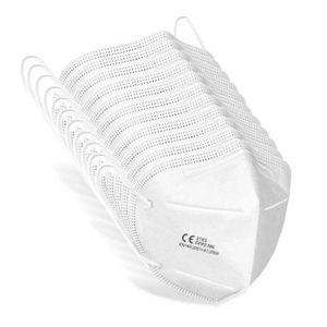 10x Atemschutzmaske FFP2 Maske Feinstaubmaske Atemschutz Maske KN95 Staubmaske FFP2-03 Atemschutzmasken