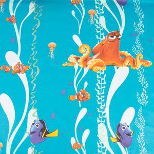 Dekostoff Baumwollstoff Nemo Findet Dorie  blau 140cm Breite