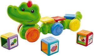 Fisher-Price aktivitätsspielzeug Krokodil junior grün 4-teilig