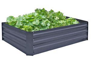 Garden Pleasure Hochbeet / Beetumrandung Stahl verzinkt anthrazit pulverbeschichtet 507279