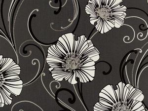 A.S. Création Tapete Chicago, metallic, schwarz, 10,05 m x 0,53 m, 332745, 3327-45
