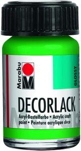 "Marabu Acryllack ""Decorlack"", hellgrün, 15 ml, im Glas"