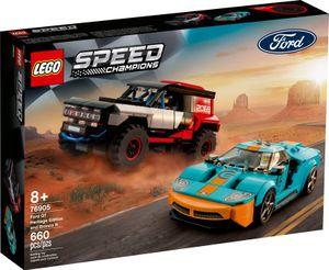 LEGO Speed Champions Ford GT Heritage Edition und Bronco R - 76905, Bausatz, Junge/Mädchen, 8 Jahr(e), Kunststoff, 660 Stück(e), 770 g