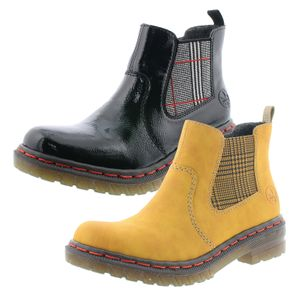 Rieker Damen Chelsea Boots Stiefeletten 76264, Größe:42 EU, Farbe:Gelb