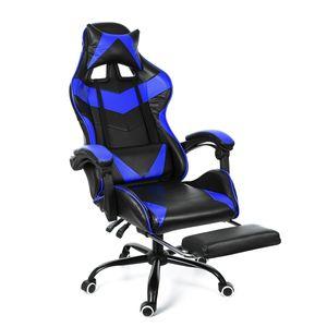 CAMTOA Gaming Stuhl Bürostuhl Chefsessel Ergonomisch Drehstuhl