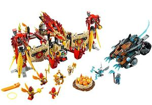 LEGO Legends of Chima Phoenix fliegender Tempel 70146