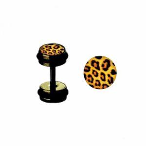 Black Steel - Fake Plug - Leopard