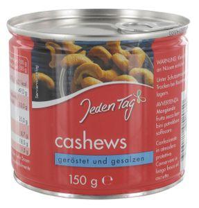 Jeden Tag Cashew-Kerne geröstet & gesalzen (150 g)