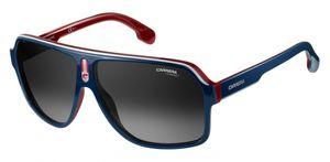 Carrera Eyewear sonnenbrille 1001/S 8RU/9O Pilot Herren blau/rot/weiß