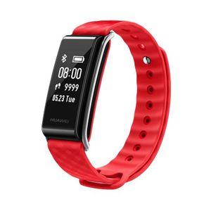 Huawei Color Band A2, Wristband activity tracker, Schwarz, Rot, Kunststoff, Berührung, IP67