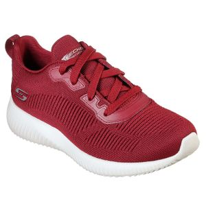 Skechers Damen Sneaker Sneaker Low Textil rot 39