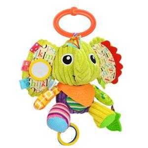 Kinderwagen Plüschtiere(Elefant), Multifunktionale Kinderwagen Kinderwagen Spielzeug Kinderwagen Spielzeug. Geeignet für 0-3 Jahre altes Babyspielzeug, Geschenke, Neugeborene Geburtstagsgeschenke