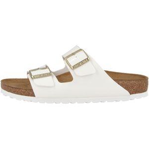 BIRKENSTOCK Arizona Damen Sandale Weiss Schuhe, Größe:39