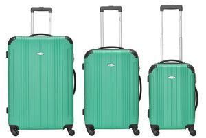 Packenger Reisekoffer Kofferset Goliath Hartschalenkoffer
