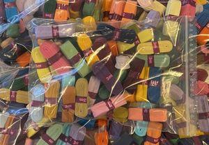 2 x 3m Schrägband orange und violett 20mm breit gefalzt Einfassband Farbwahl