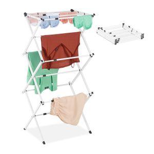 relaxdays Wäscheständer klappbar   ausziehbar