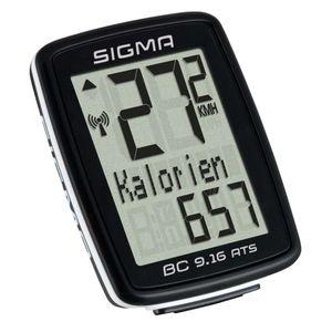 Sigma Fahrradcomputer BC 9.16 ATS Schwarz 9162
