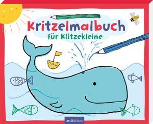 ars Edition Kritzelmalbuch für Klitzekleine Ab 2 Jahren