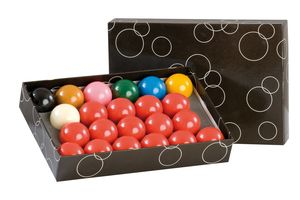 Billardkugelset, Snooker, Standard, 52,4 mm