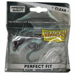 Dragon Shield - Perfect Fit - 100 Sideloader inner Card Sleeves - Standard Größe (für Pokemon, Magic etc.)