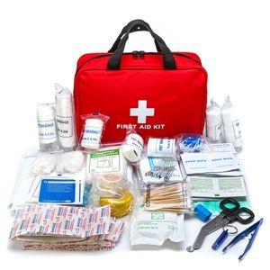 300 tlg. Verbandskaesten Set Verbandtasche Medical Erste-Hilfe für Haus Büro KFZ Camping