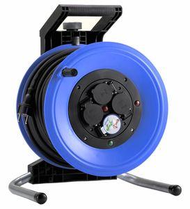 HEDI K3000TF Kunststoff-Kabeltrommel Plus 320, leer, spritzwassergeschützt ***NEU***