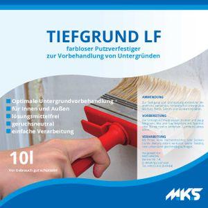 MKS Tiefgrund ELF Tiefengrund Grundierung innen & außen 10 L
