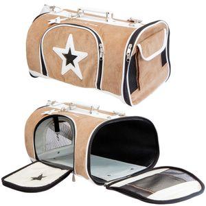 Hunde Tragetasche Star Bag - Hundereisetasche - robust - formstabil - tragbar