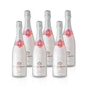 Rose Demi - Sec - ICE – François Montand  - Méthode Traditionelle, Paket mit:6 Flaschen