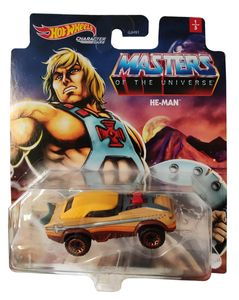 Hot Wheels Character Cars GRM21 Masters Of The Universe HE-MAN Actionar