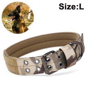 Hundehalsband für kleine mittelgroße große Hunde, Welpen und Katzen(L,43-53cm)
