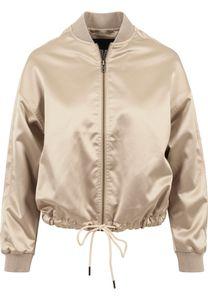 Urban Classics Damen Leichte Jacke Ladies Satin Kimono Blouson Gold-S